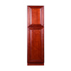 Cherry Maple Pantry Cabinet with Two Doors @