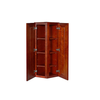 Cherry Rope Wall End Cabinet