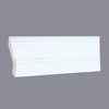White Shaker Crown Molding