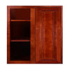 Cherry Maple Wall Blind Corner Cabinet @