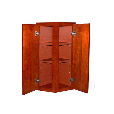 Cherry Shaker Wall End Cabinet