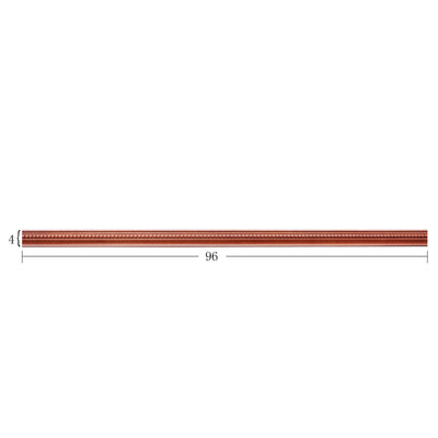 Wine Maple Crown Molding
