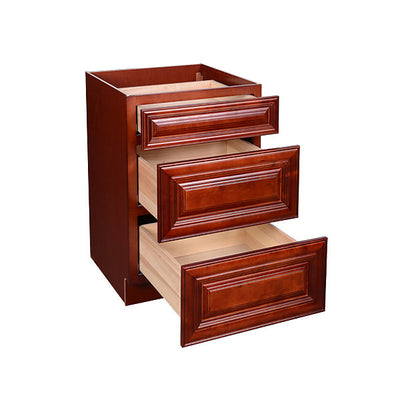 Cherry Maple Drawer Base Cabinet 12-24 @