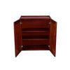 "Cherry Rope Wall Cabinet 30"" H"