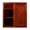 Cherry Rope Wall Blind Corner Cabinet