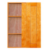 Honey Spice Wall Blind Corner Cabinet
