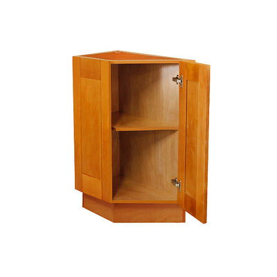 Honey Spice End Cabinet with One Door