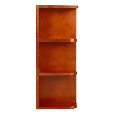 Cherry Shaker Wall End Open Shelf