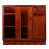 Cherry Rope Base Blind Cabinet 36-42 LR