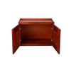 "Cherry Shaker Wall Cabinet with Two Doors 15""H"