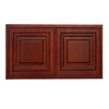 "Cherry Rope Wall Cabinet 12"" Deep 12""H"