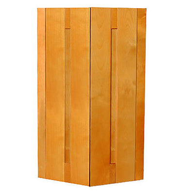Honey Spice Wall End Cabinet