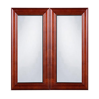 Cherry Maple Glass Door (Two Doors)@