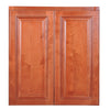 "Wine Maple Single Door Wall Cabinet 12"" Deep 30""H@"
