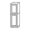 Shaker Gray Pantry Cabinet with Two Doors@