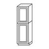 Misty Shaker Pantry Cabinet with Two Doors@