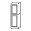 Shaker Espresso Pantry Cabinet with Two Doors@