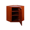 Cherry Shaker Wall Diagonal Cabinet @
