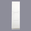 White Shaker Pantry Cabinet with Two Doors