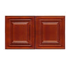 Cherry Maple Wall Cabinet 24 Deep 12H @