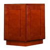 Cherry Shaker Base End Cabinet with Two Doors
