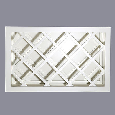 White Shaker Wall Wine Rack Cabinet