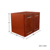 Cherry Maple Wall Cabinet 24 Deep 24H