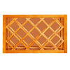 Honey Spice Wall Wine Rack Cabinet