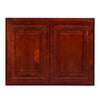 "Cherry Rope Wall Cabinet 12 Deep 24""H"