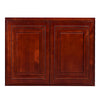 "Cherry Rope Wall Cabinet 24 Deep 24""H"