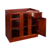 Cherry Maple Base Blind Cabinet 36-42 LR