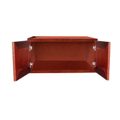 "Cherry Maple Wall Cabinet 12"" Deep 15""H @"