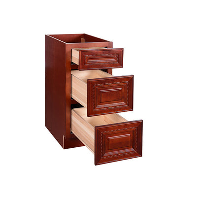 Cherry Rope Base Cabinet 12-24