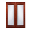 Cherry Rope Glass Door (Two Doors)