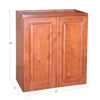 "Wine Maple Wall Cabinet 12"" Deep 30""H@"