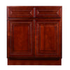 Cherry Rope Base Cabinet 33-36