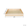 Cream White Roll-out Tray@