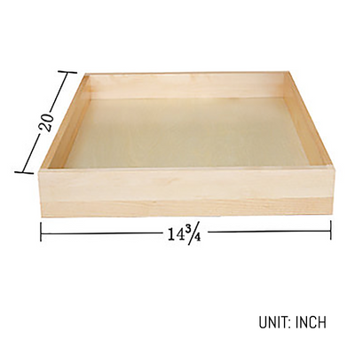 Cherry Shaker Roll-out Tray