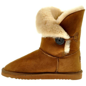 Button Short Ugg Boots