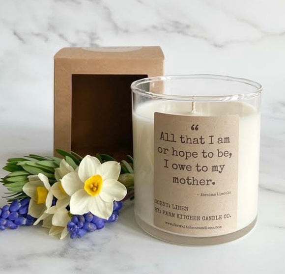 All That I Am Mother Candle