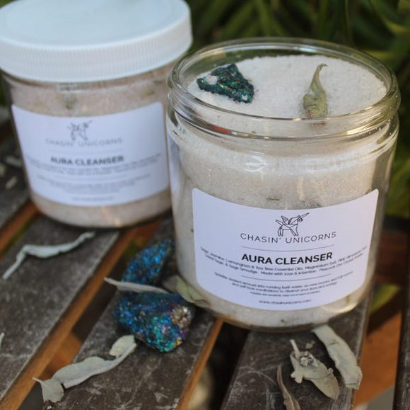 Crystal Bath Salts Aura Cleanser