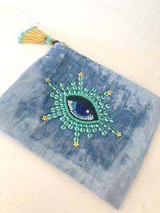 Velvet Eye coin purse