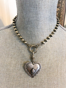 Southwest Heart Necklace