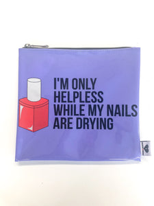 Helpless Nails Jelly Clutch