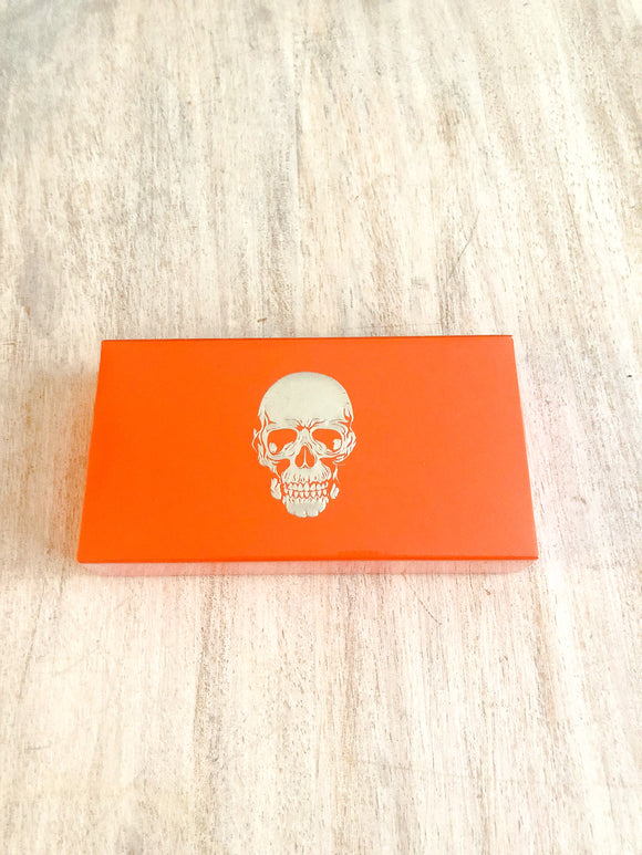 Orange Skull Matchbooks