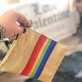 Rainbow Leather Bag