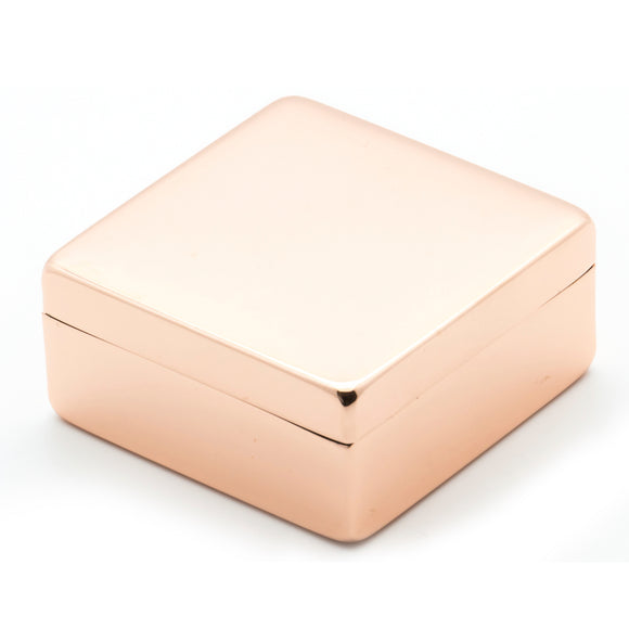 Lund Luxe Rose Gold Box