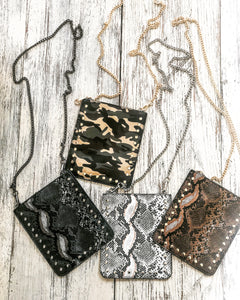 Cell Phone Chain Bags