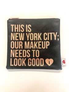 New York City Makeup Clutch