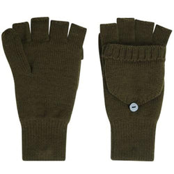 Proclimate Fingerless Gloves With MItten Cap
